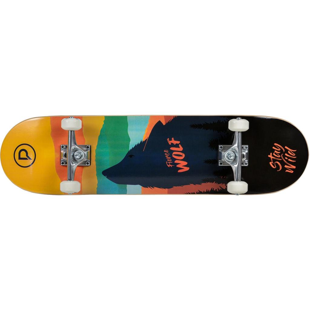 Playlife Skateboard »Fierce Wolf«