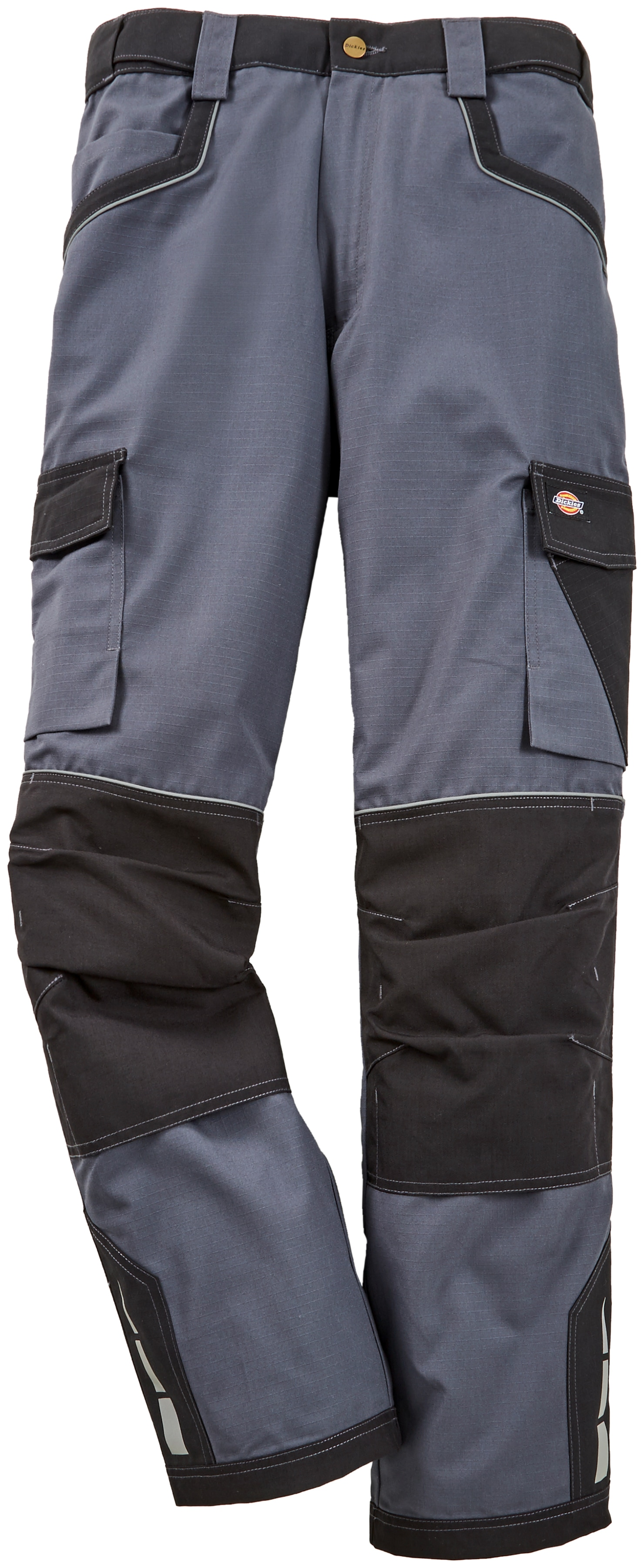 Dickies Arbeitshose Industry Pro, mit Kniepolstertaschen grau Herren Arbeitshosen Arbeits- Berufsbekleidung