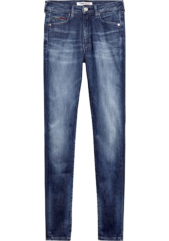 TOMMY JEANS Skinny - fit - Jeans »SYLVIA HR SUPER SKNY DYMDBS« kaufen