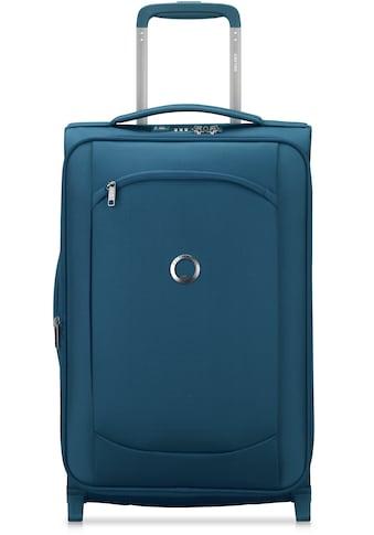 """Delsey Weichgepäck - Trolley """"Montmartre Air 2.0, 55 cm, blue"""", 4 Rollen kaufen"""