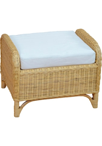 Home affaire Sitzhocker »Frieda«, mit Kissenauflage kaufen