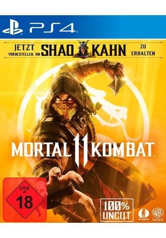 Mortal Kombat 11 PlayStation 4 kaufen