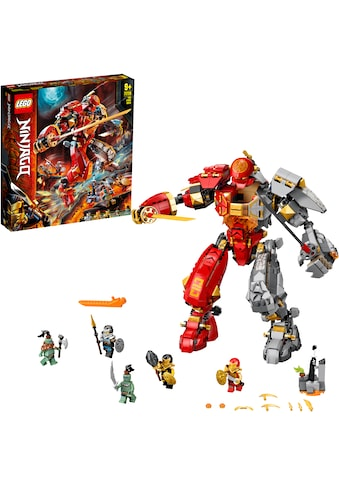 LEGO® Konstruktionsspielsteine »Feuer-Stein-Mech (71720), LEGO® NINJAGO®«, (968 St.), Made in Europe kaufen