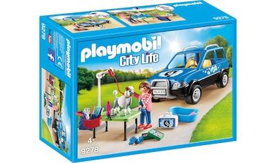 "Playmobil® Konstruktions - Spielset ""Mobiler Hundesalon (9278), City Life"", Kunststoff kaufen"