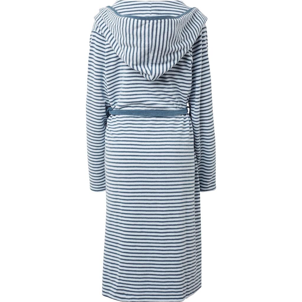 TOM TAILOR Unisex-Bademantel »Stripe«, angenehm leicht