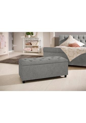 Home affaire Polsterbank »Goronna«, in 5 Farben, Sitzhöhe 41,5 cm, auch als Garderobenbank oder Bettbank geeignet kaufen