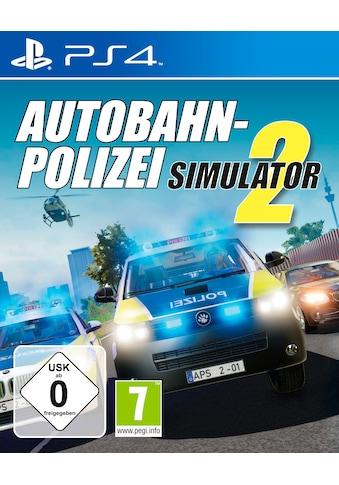 Spiel »Autobahn-Polizei Simulator«, PlayStation 4 kaufen
