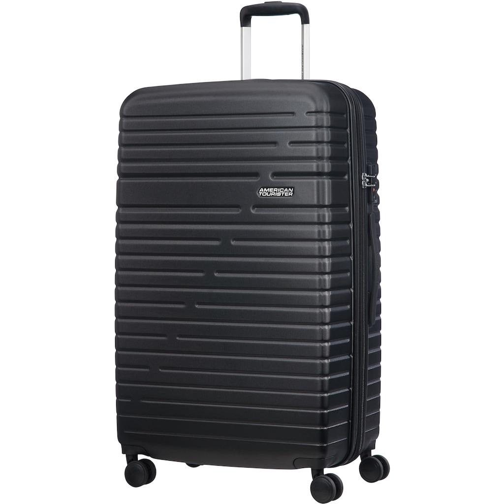 American Tourister® Hartschalen-Trolley »Aero Racer, 79 cm, jet black«, 4 Rollen