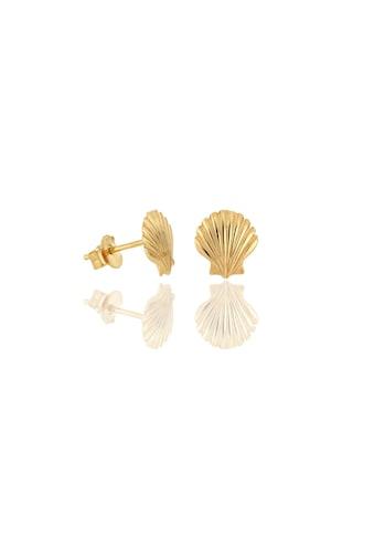 JULES & GENTS Paar Ohrstecker »#seashell Gold« kaufen