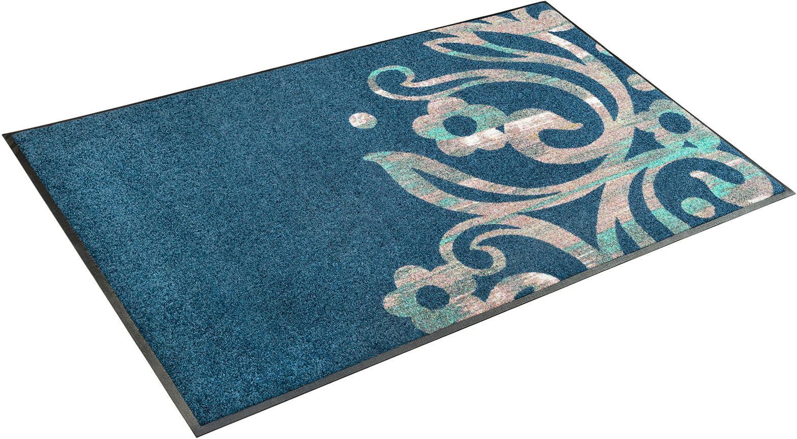 Teppich Otilia wash+dry by Kleen-Tex rechteckig Höhe 7 mm gedruckt