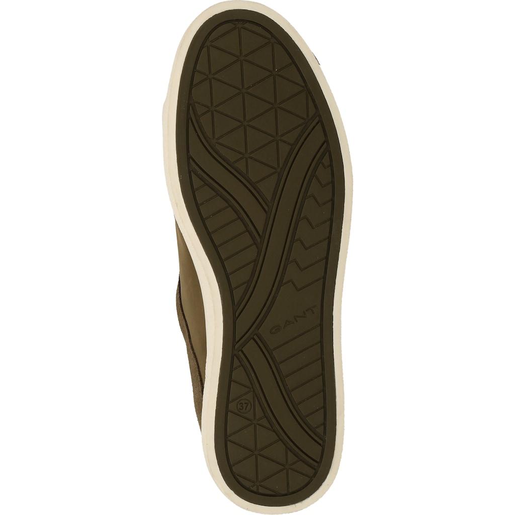 Gant Sneaker »Nubukleder/Textil«