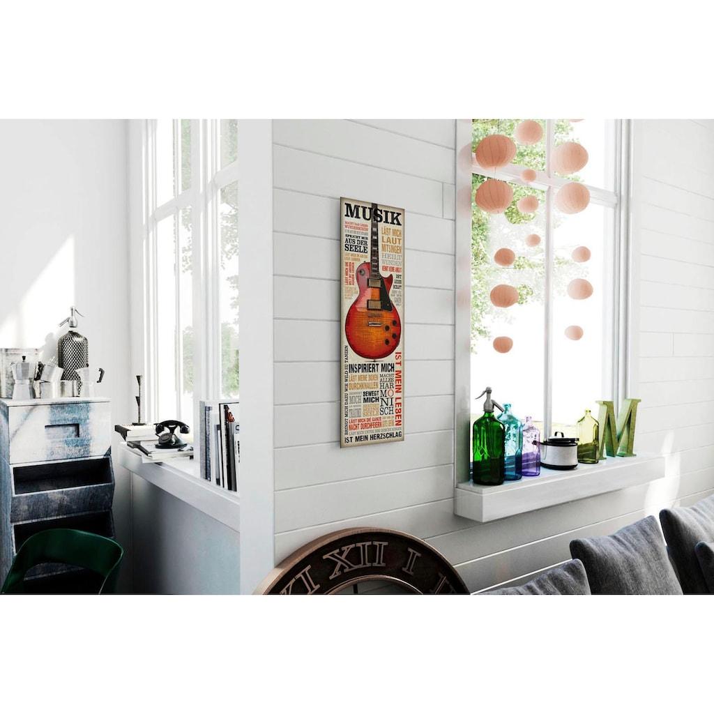 Reinders! Deco-Panel »Musik ist Leidenschaft«