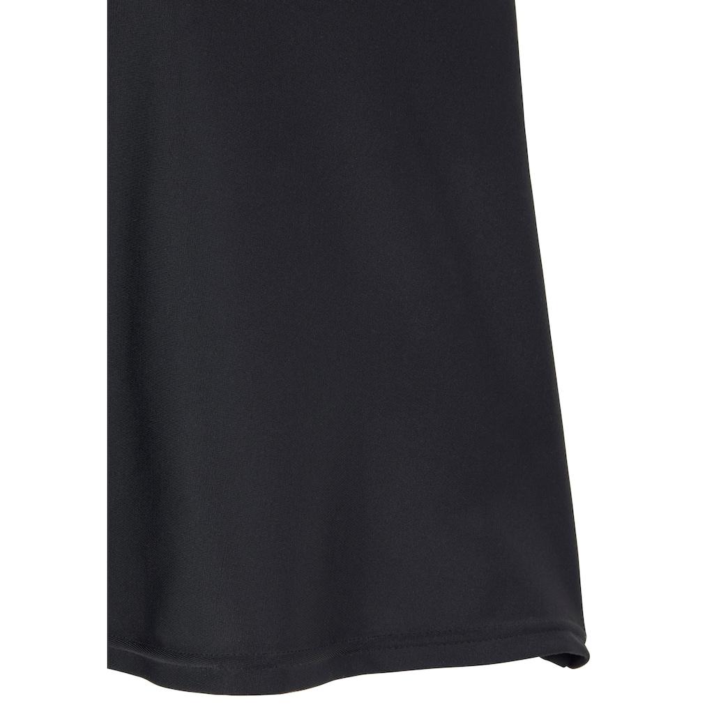 LASCANA Bügel-Tankini, mit Karo-Kontrastdetails an Hose und Top