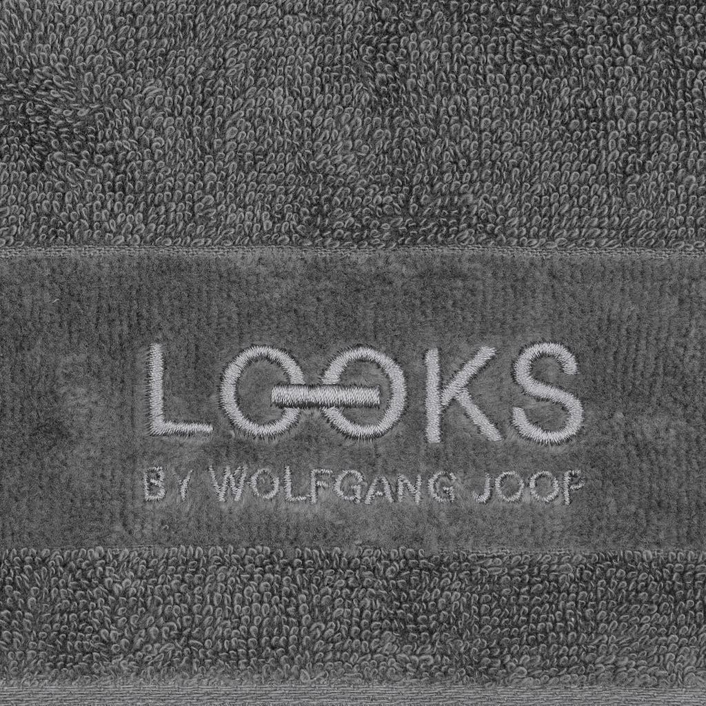 LOOKS by Wolfgang Joop Gästehandtücher »LOOKS«, (2 St.), mit Logobestickung