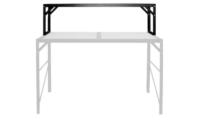 VITAVIA Pflanztisch , Alu - Tischaufsatz schwarz kaufen