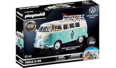 Playmobil® Konstruktions-Spielset »Volkswagen T1 Camping Bus - Special Edition... kaufen