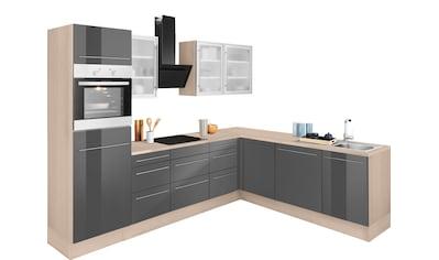 OPTIFIT Winkelküche »Bern«, ohne E-Geräte, Stellbreite 285 x 225 cm, mit... kaufen