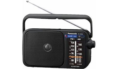 Panasonic Radio »RF-2400DEG«, ( FM-Tuner ), automatischer Frequenzregelung (AFC) kaufen