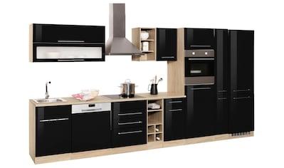 HELD MÖBEL Küchenzeile »Eton«, mit E - Geräten, Breite 390 cm kaufen