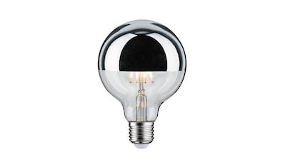Paulmann LED-Leuchtmittel »Globe 4,8 Watt E27 Kopfspiegel Silber Warmweiß«, 1 St., Warmweiß kaufen
