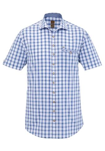 OS - Trachten Trachtenhemd kurzarm in gerader Passform kaufen