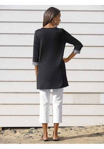 Alba Moda Shirt-Cardigan mit Streifendetails kaufen