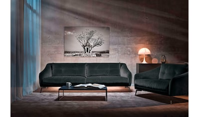 Places of Style 3-Sitzer »Williston«, auch in Naturleder, mit Metallfüßen kaufen