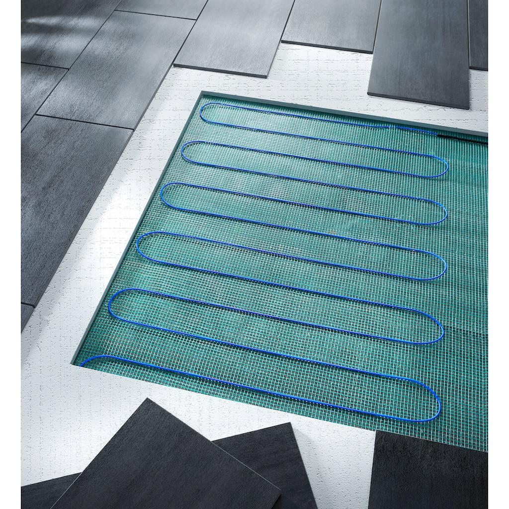 Fußboden-Temperierungssystem, Fußbodenheizung