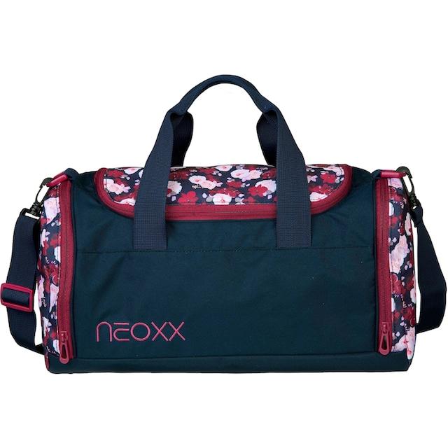 neoxx Sporttasche »Champ, My heart blooms«