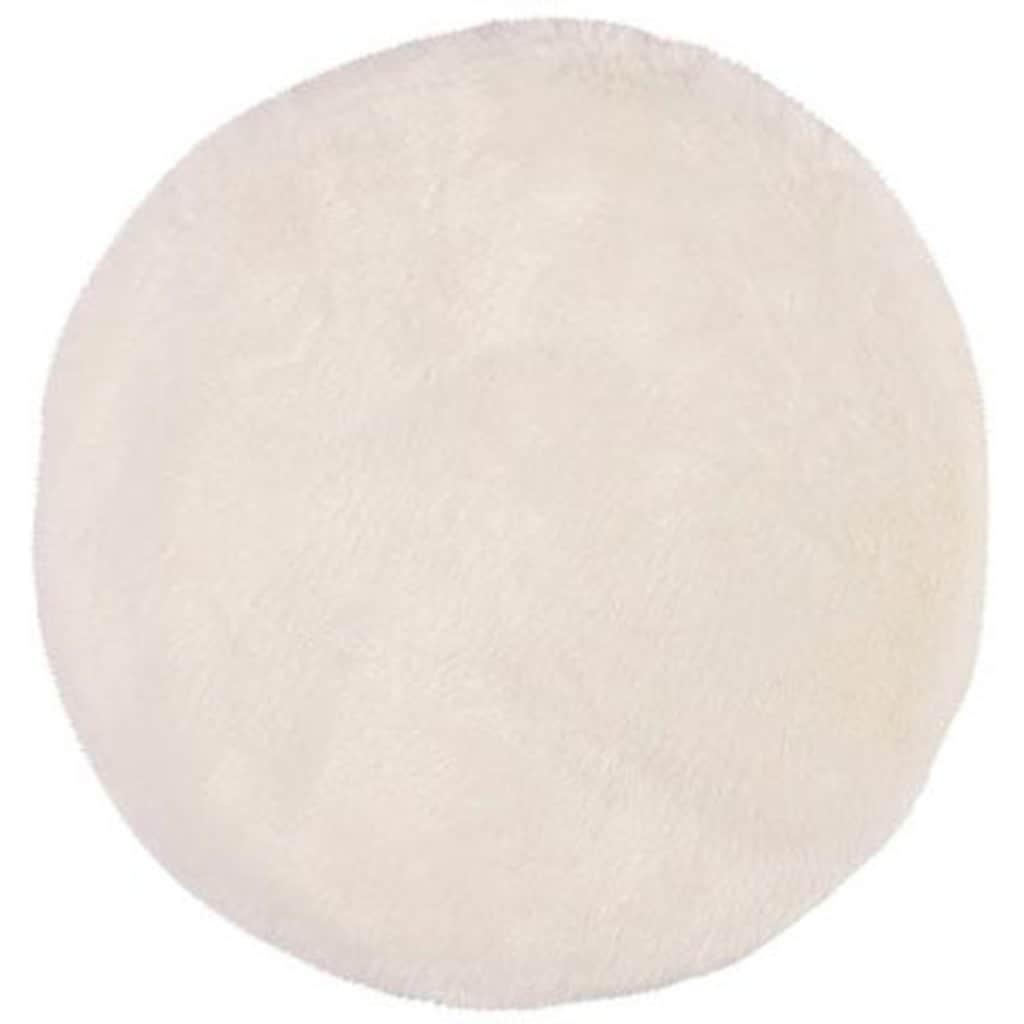 Obsession Fellteppich »My Samba 495«, rund, 40 mm Höhe, Kunstfell, ein echter Kuschelteppich, Wohnzimmer