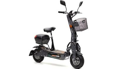 Forca E-Scooter »Evoking 45 km/h Safety (inkl. Blinker + Gepäck-Case)«, 45 km/h, 40 km kaufen