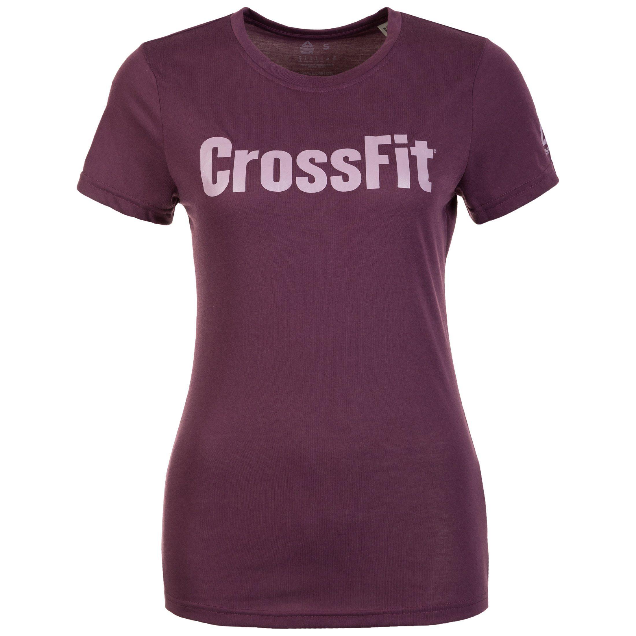 Reebok Trainingsshirt Speedwick Fef | Sportbekleidung > Sportshirts | Lila | Reebok