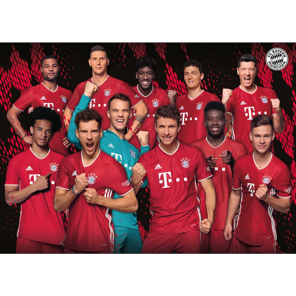 Ravensburger Puzzle »FC Bayern Saison 20/21«, Made in Germany
