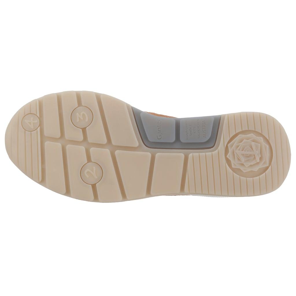 Ganter Sneaker »Giselle«, mit Korkfußbett