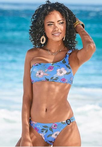 s.Oliver Beachwear Bustier-Bikini-Top »Maya«, in One-Shoulder-Form und mit Zierring kaufen