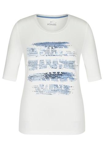 Rabe T-Shirt, mit Strass-Steinen und Rundhalsausschnitt kaufen