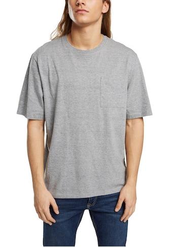 edc by Esprit T-Shirt, mit Brusttasche kaufen