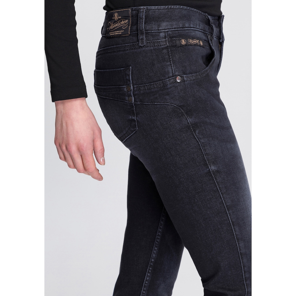 Herrlicher Slim-fit-Jeans »TOUCH SLIM REUSED«, umweltfreundlich dank der ISKO New Technology