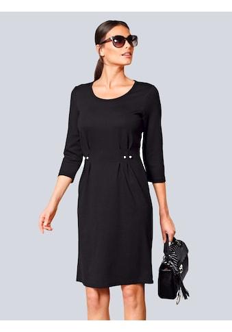 Alba Moda Jerseykleid, mit Zierdetails und Perlen in der Taille kaufen