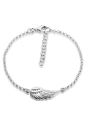 Nenalina Armband »Flügel Anhänger Schutzengel 925 Silber« kaufen
