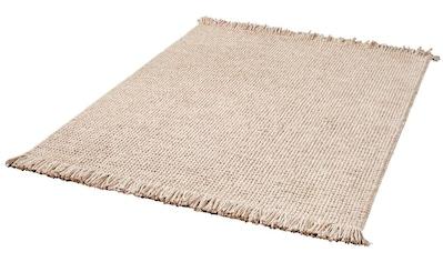Wollteppich, »Lise«, Dekowe, rechteckig, Höhe 15 mm, handgewebt kaufen