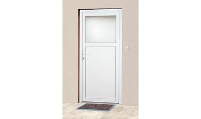 KM Zaun Haustür »K601P«, BxH: 108 x 203 cm, weiß, in 2 Varianten kaufen