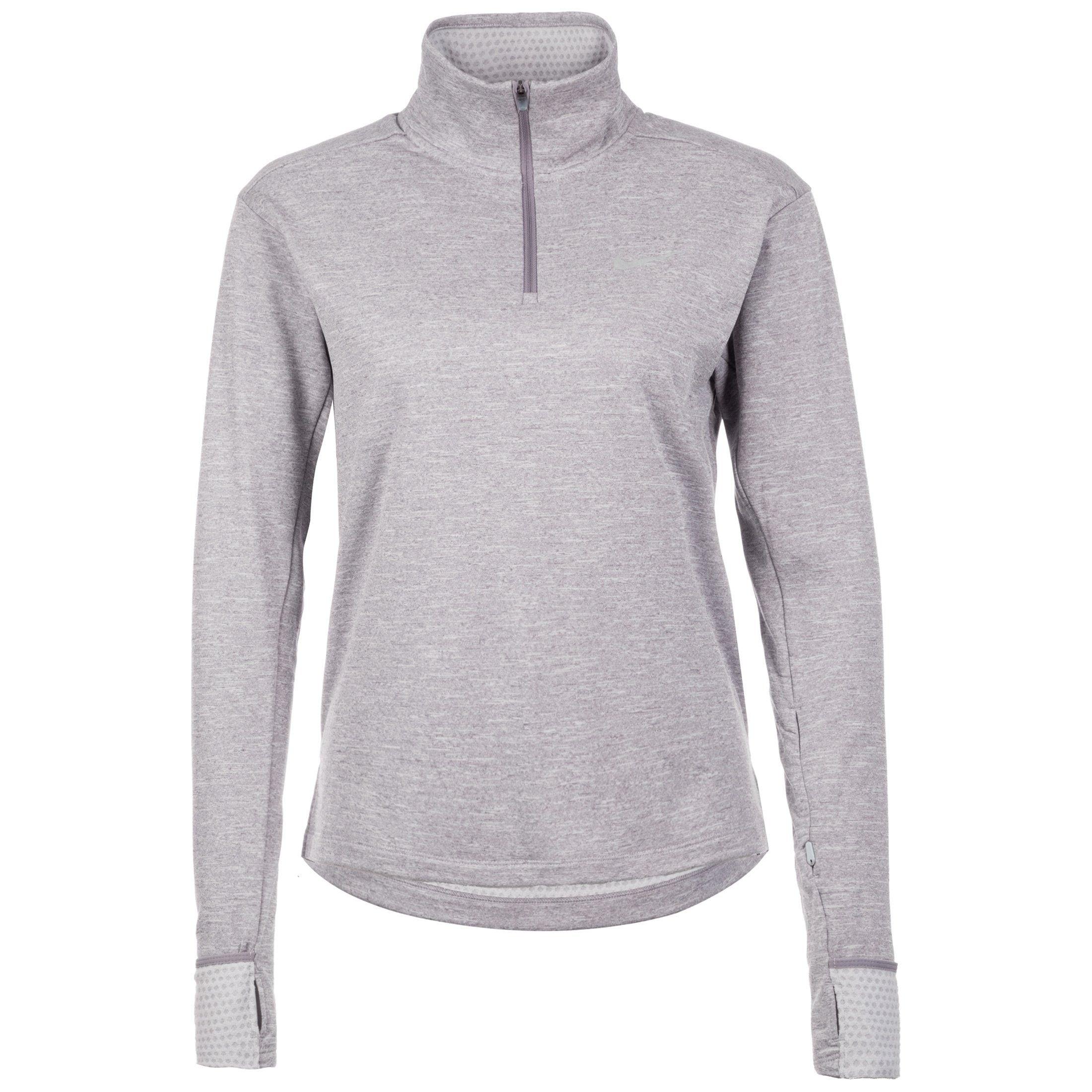 Nike Laufshirt Therma Sphere Half-zip | Sportbekleidung > Sportshirts > Laufshirts | Grau | Nike