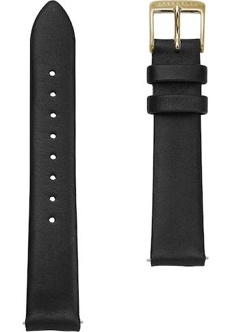 STERNGLAS Uhrenarmband »Klassik 16 schwarz gold, SBA00/606« kaufen