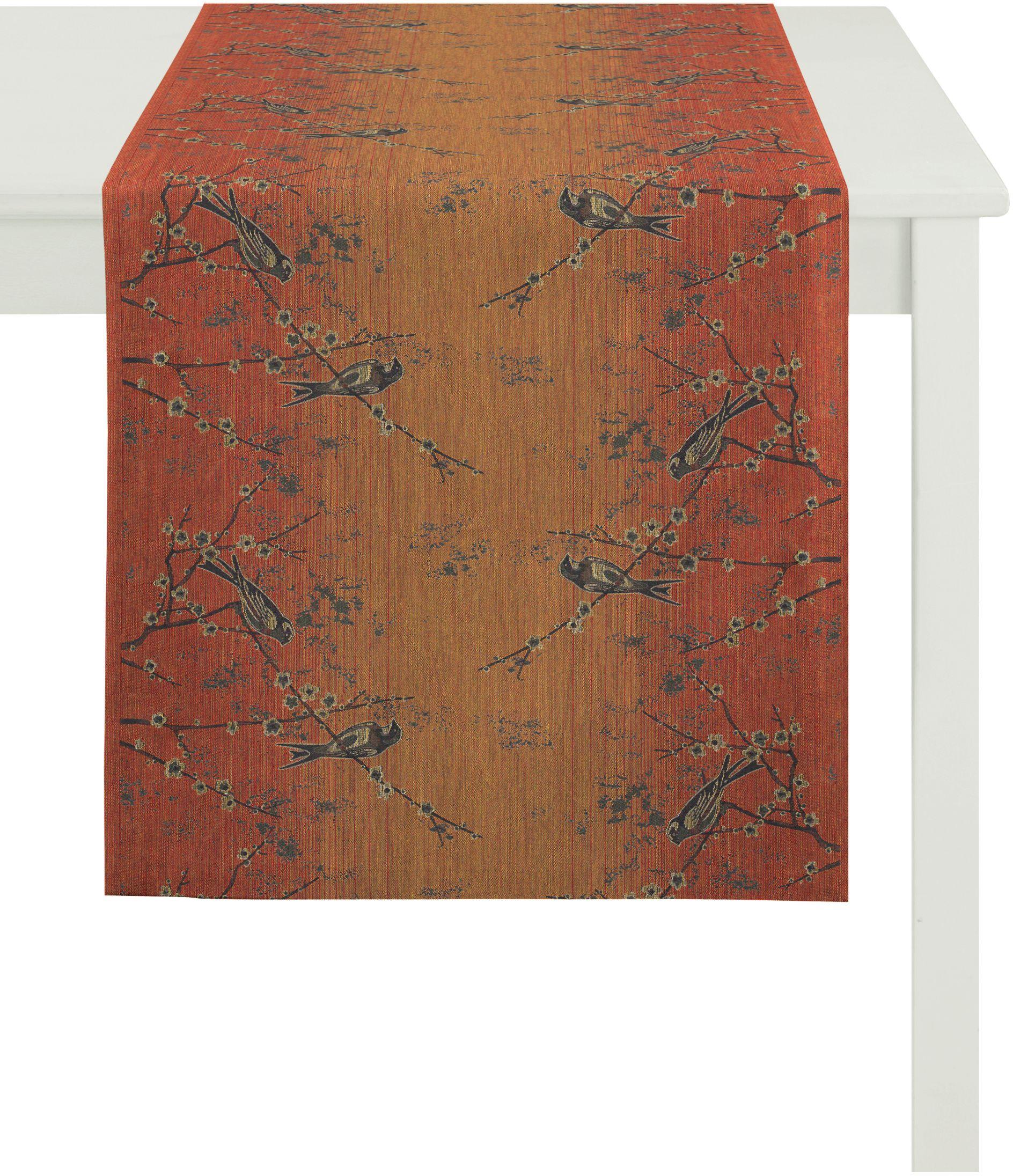 Apelt Tischläufer, »3303 INDIAN SUMMER« | Heimtextilien > Tischdecken und Co > Tischläufer | Orange | APELT