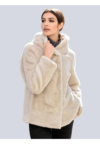 Alba Moda Winterjacke, aus weichem Webpelz kaufen