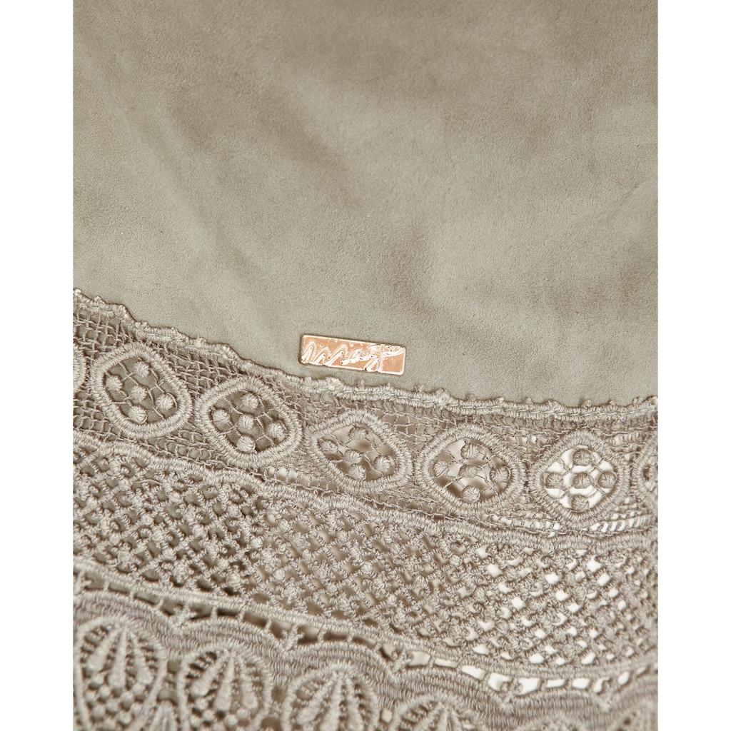 Maze Mantel mit langen Fransen