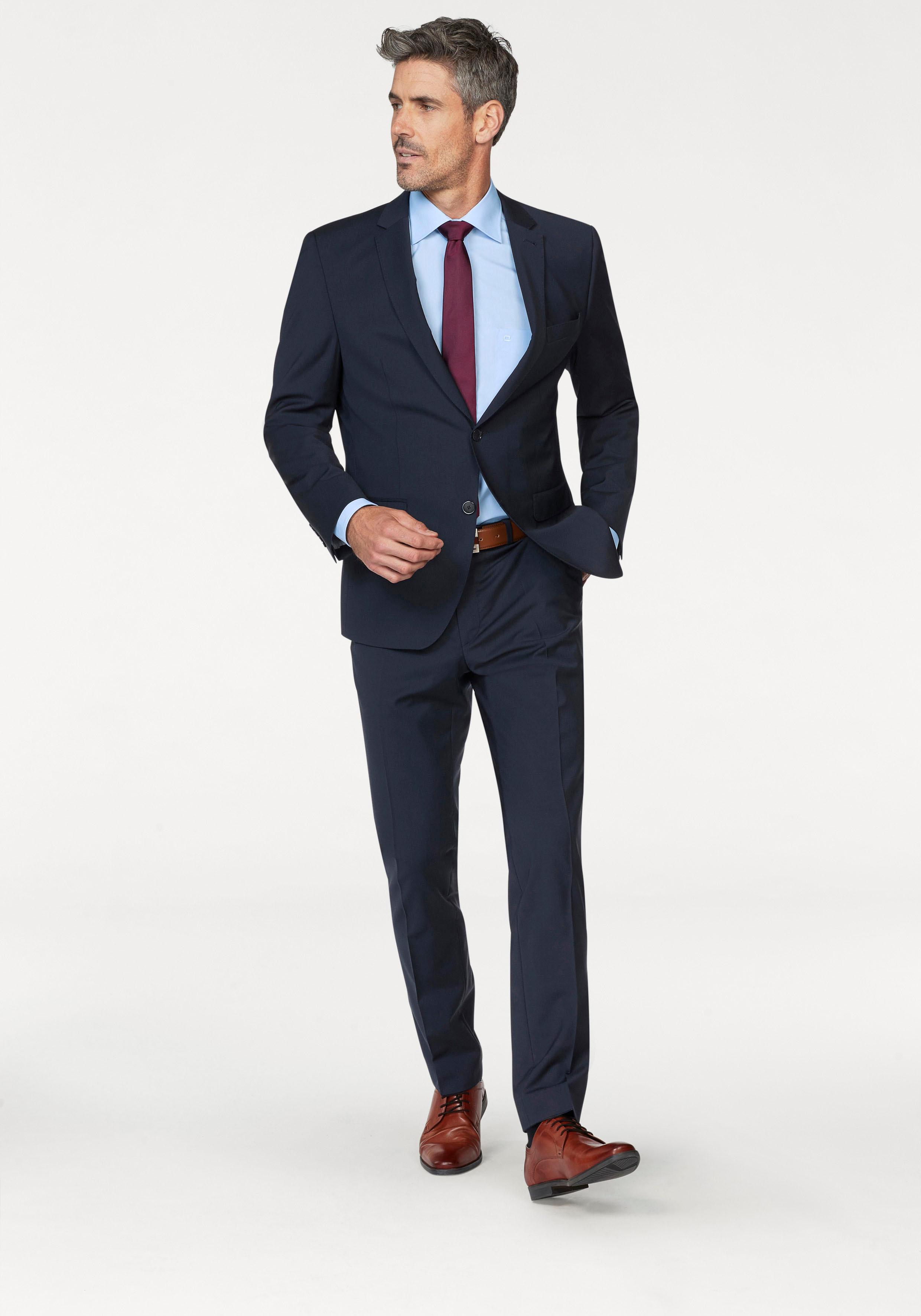 Bugatti Anzug »FLEXCITY« | Bekleidung > Anzüge & Smokings > Anzüge | Blau | BUGATTI