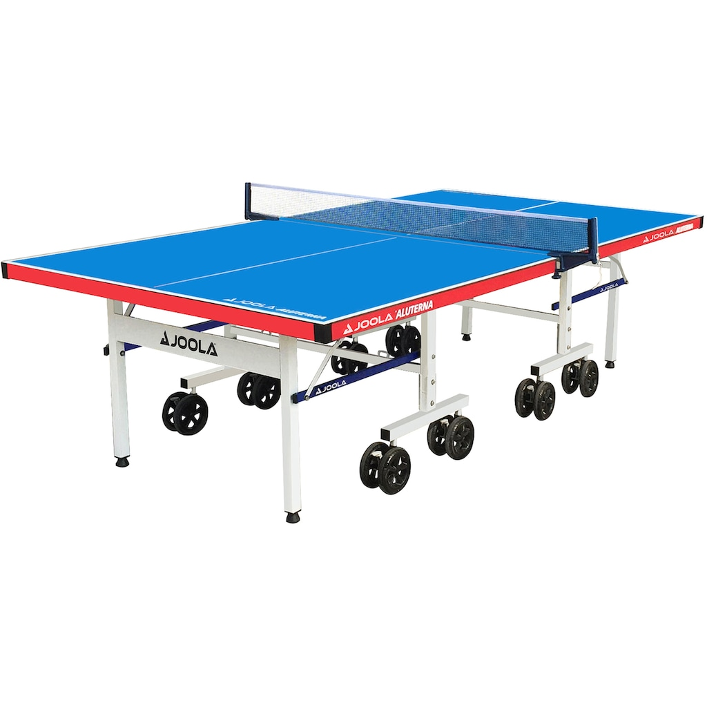 Joola Tischtennisplatte »JOOLA Tischtennisplatte Aluterna«, (9 tlg.), doppelte Kippsicherung