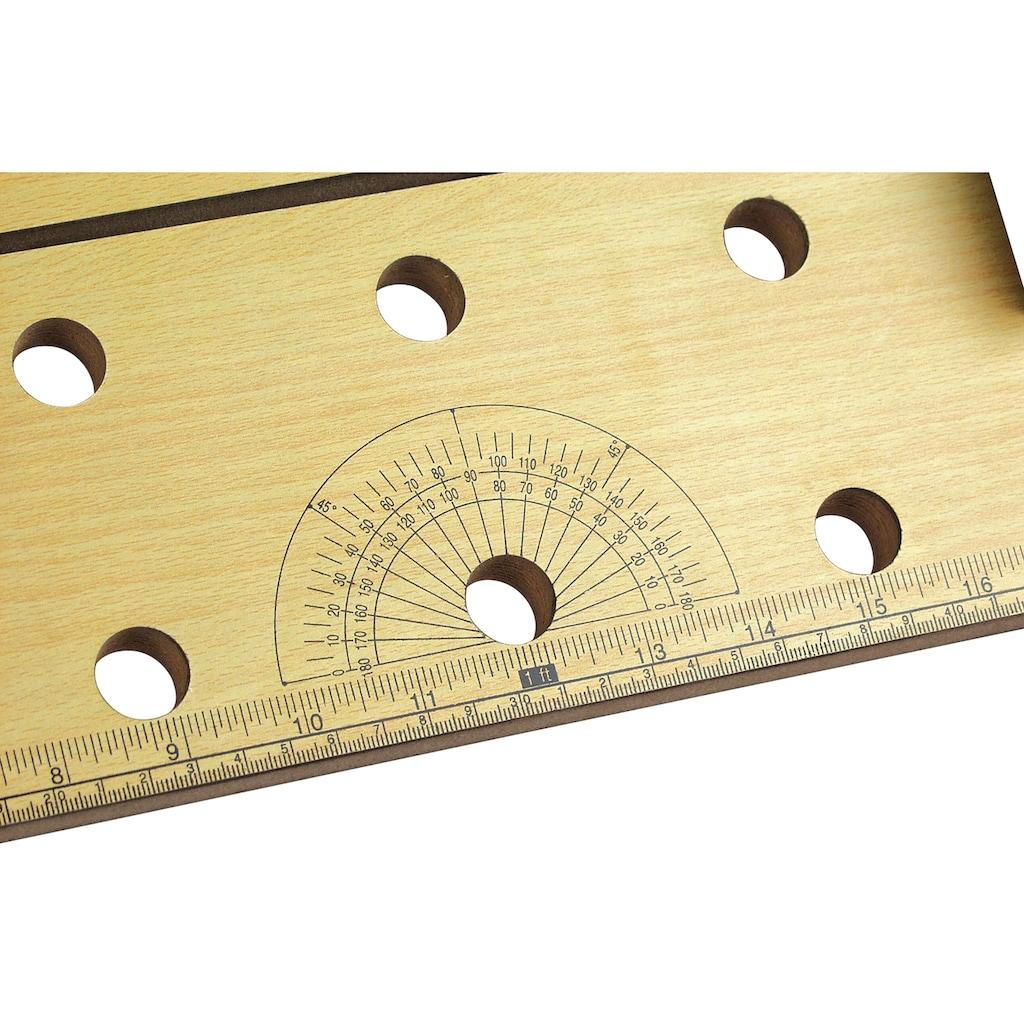 Brüder Mannesmann Werkzeuge Werkbank, B/L/T: 16,2x88x13 cmcm